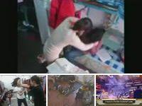美女在床上打架视频