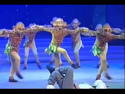 儿童舞蹈 过猴山 舞蹈视频现代舞