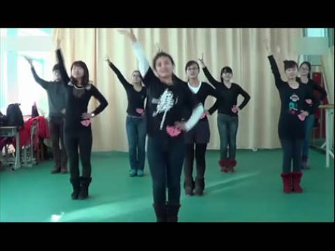舞蹈 幼儿舞蹈视频之牛奶歌