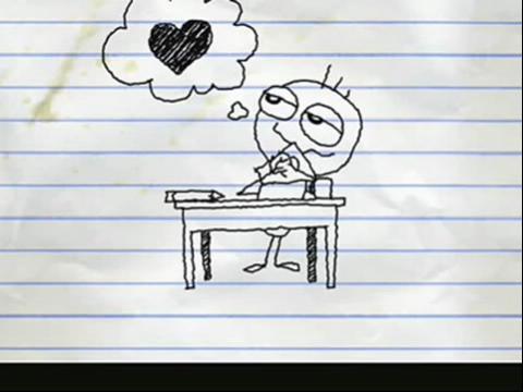 通简笔画 卡通小人铅笔画