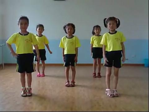 幼儿舞蹈——牛奶歌-舞蹈教学视频