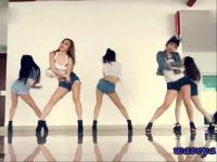 05:04添加视频 【舞蹈教学】yu pop练习少女时代舞蹈