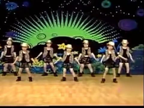 儿童舞蹈:日不落舞蹈教学视频