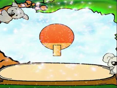幼儿篮球简笔画