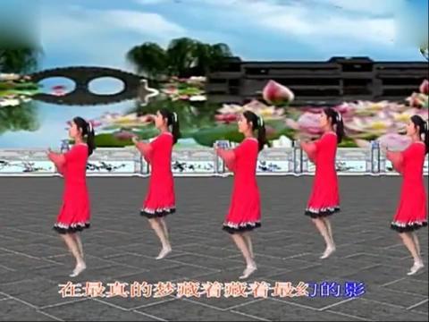 蝶舞广场舞 少女的心