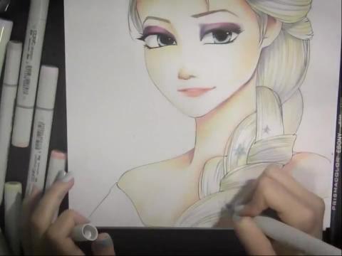 动漫人物画法素描简笔画设计大全07教你画漫画