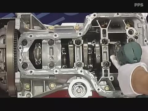 汽车维修教程 吉利4g18cvvt发动机结构与维修4