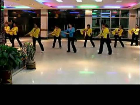 醉月亮舞蹈视频