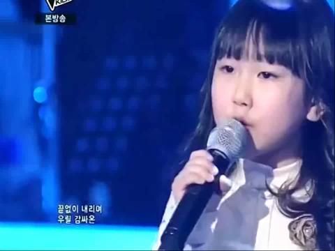 韩国好声音儿童版《雪之花》唱哭观众
