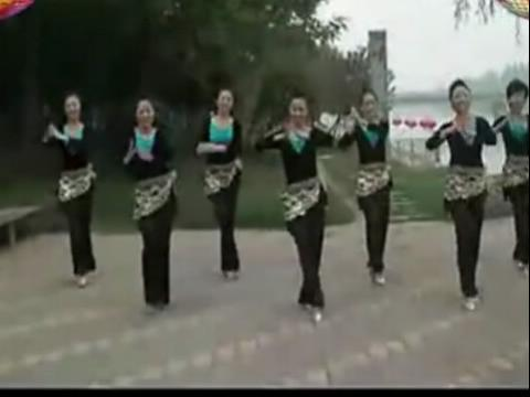 【高清】美久广场舞 印度美女