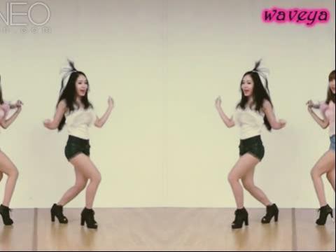 美女组合yoohoo舞蹈视频
