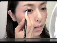 韩国彩妆师大眼妆教程