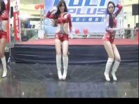 台湾汽车展 性感制服美女诱惑热舞