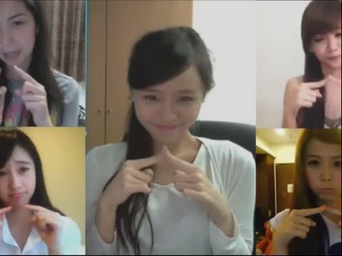五大美女纯可爱的可爱颂
