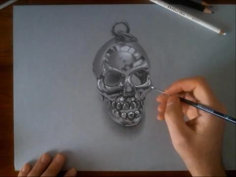 3d立体画百度经验:3d铅笔画入门:3d素描基础教程- 3d