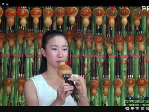 欢乐颂葫芦丝曲谱