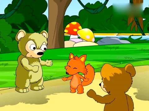 儿童故事大全 两只笨狗熊