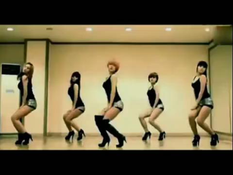 韩国爵士舞团体 美女热舞