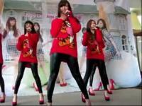 【性感美女视频美女自拍】韩国美女性感皮裤热舞