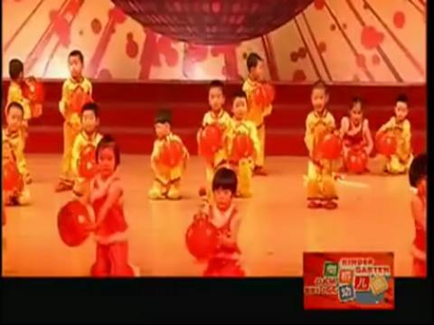 儿童舞蹈 _开门红_ _幼儿舞蹈视频