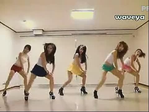 韩国psy 江南style 美女舞蹈教学laoganxiang5d6d