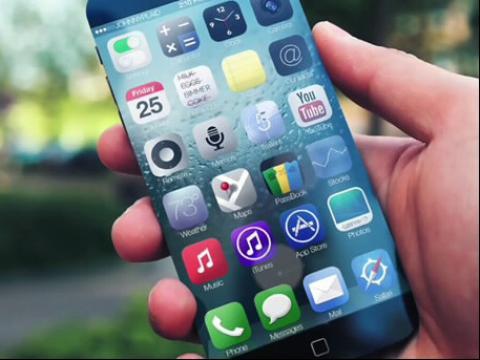 苹果手机最新iphone 6超薄无边框概念视频曝光