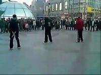 中国鬼步舞还有这样的美女高手