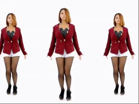 韩国长腿美女性感爵士舞