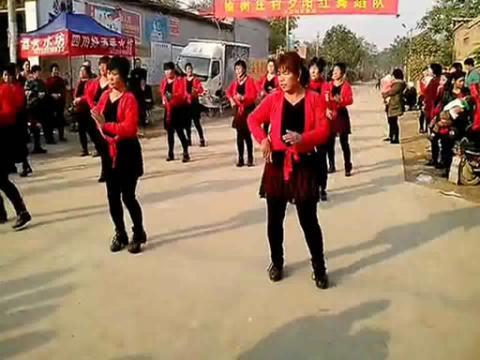 邢台宁晋大曹庄农场榆树庄广场舞
