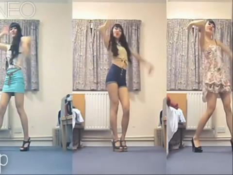酷6视频; 美女热舞;