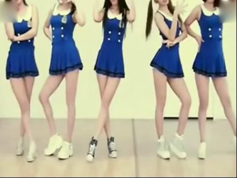 【韩国舞蹈】 现代 舞 5女生 舞蹈 教学