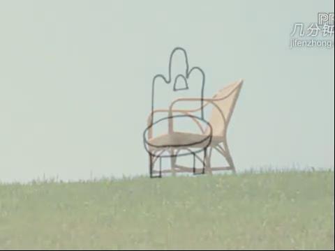 公园休息椅子简笔画 公园椅子简笔画