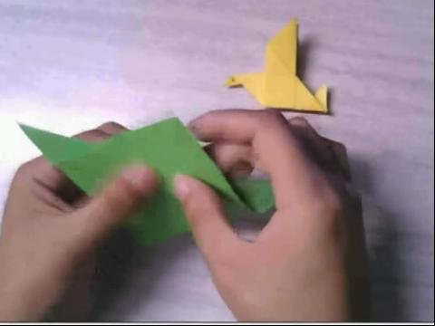 手工制作大全 和平鸽折法步骤教程视频