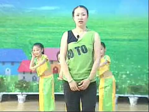 儿童舞蹈:《踩雨》(含动作分解教学)