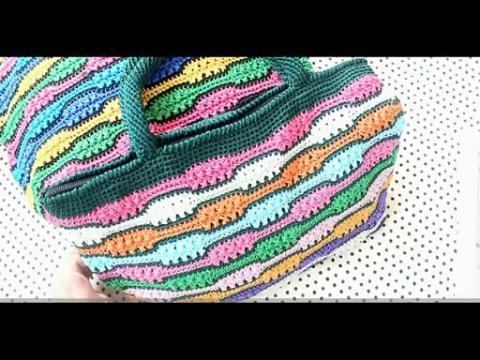 毛线编织包包的织法