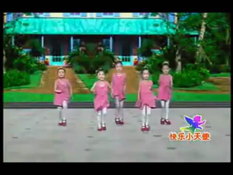 儿童舞蹈最炫民族风儿童舞蹈视频##