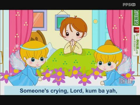 儿童英文歌曲:kum ba yah