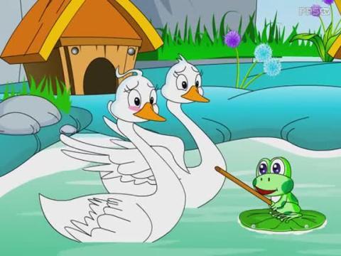 幼儿成长童话故事大王系列之青蛙飞天
