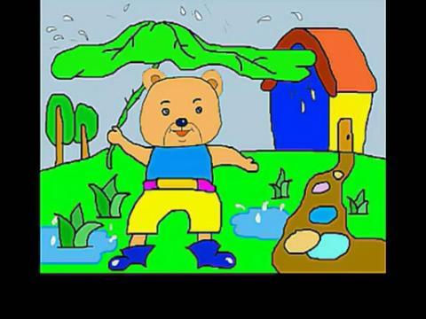 简笔画小熊的画法