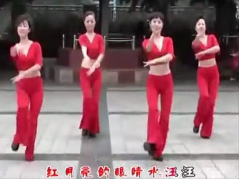 周思萍广场舞红月亮