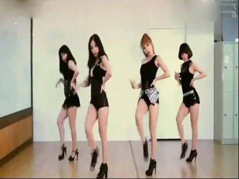 美女热舞视频 韩国性感舞团waveya《give