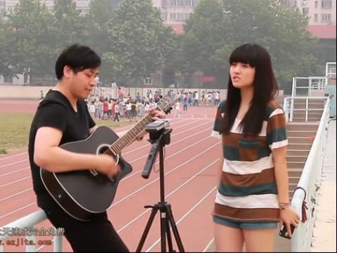 郝浩涵吉他弹唱 恋爱ing