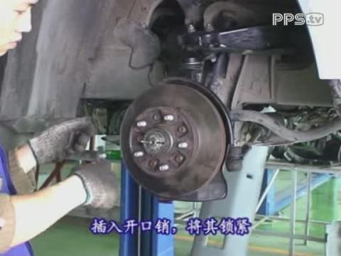 汽油发动机修理视频金杯汽车维修视频_前悬架的安装