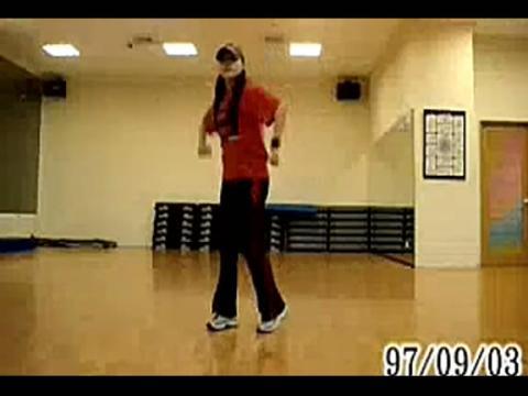 广场舞日不落分解动作舞蹈教学视频