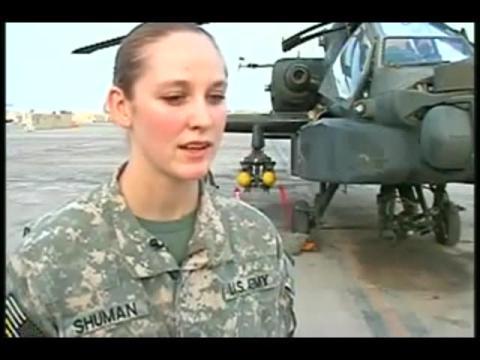 国外美女飞行员讲诉直升机上的被虐遭遇故事