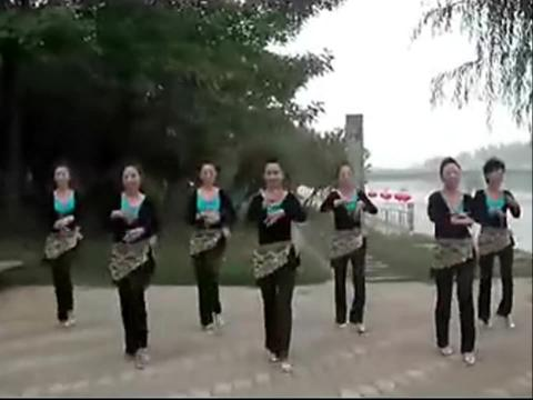 云裳广场舞印度美女 广场舞教学