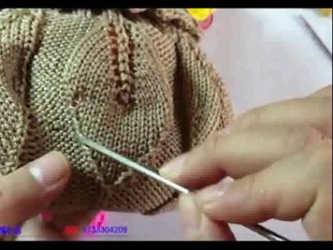毛线披肩编织方法教程