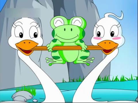 幼儿成长故事系列之青蛙飞天