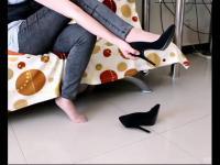 12cm高跟鞋超细跟超性感哦