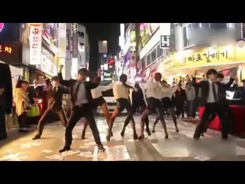 美女街舞gentleman舞蹈教学高清视频